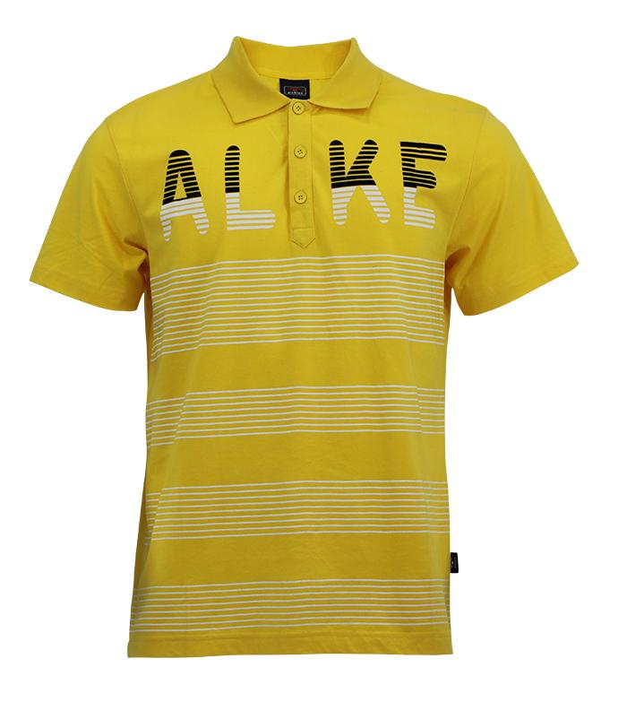 Aleklee line printed t-shirt AL-5014#