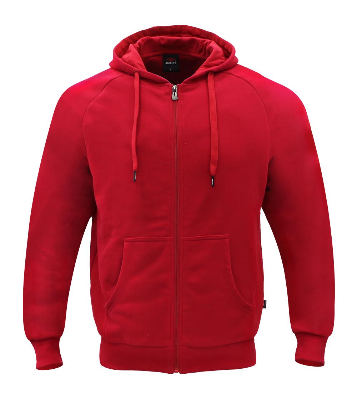 Aleklee full zip hooded hoodie AL-090420#