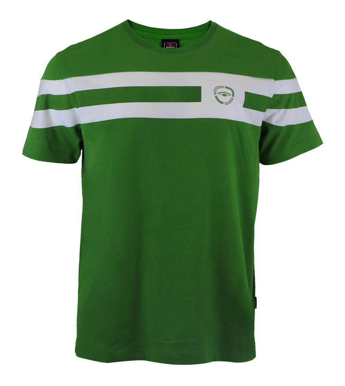 Aleklee double stripe t-shirt AL-5007#