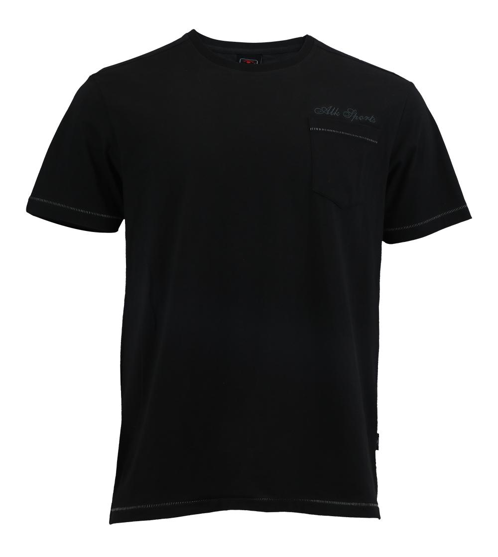 Aleklee chest pocket t-shirt AL-5015#