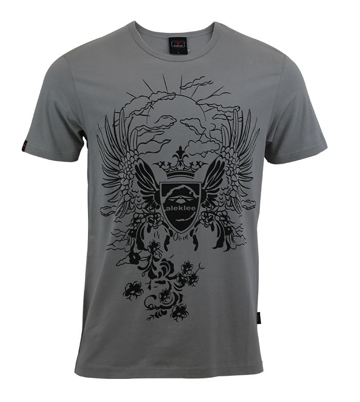 Aleklee full printing t-shirt AL-6008#