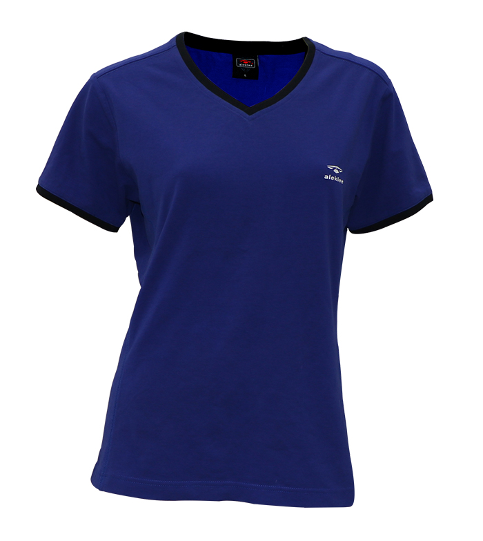 Aleklee v-neck t-shirt AL-190506#