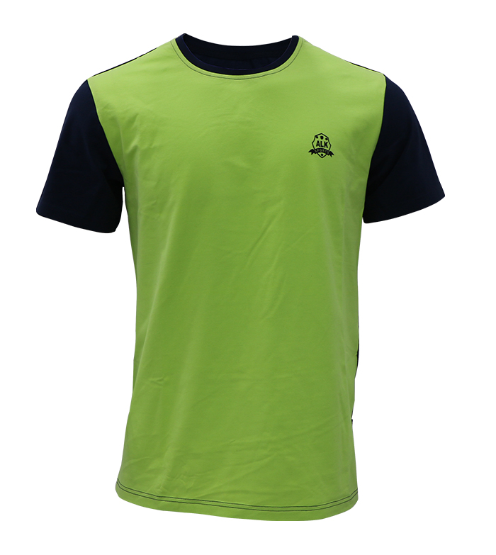 Aleklee colorblock t-shirt SS18-7#