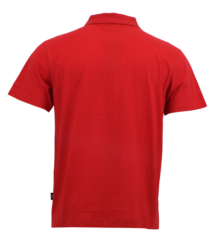 Aleklee block pannel polo t-shirt AL-5017#