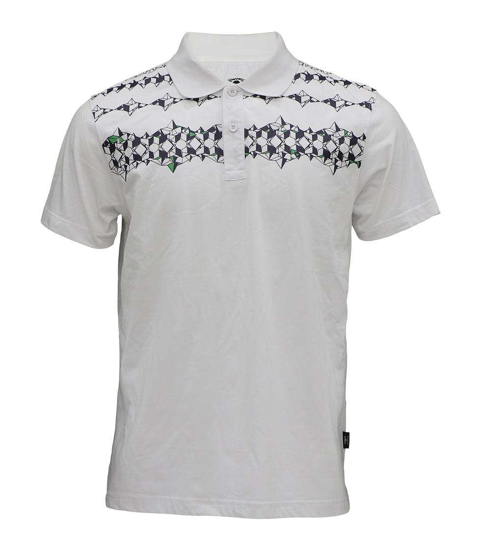 Aleklee graphic printing polo t-shirt AL-5025#