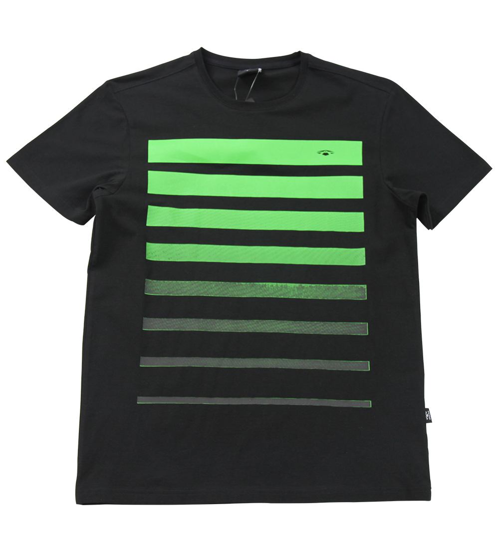Aleklee shadow stripe t-shirt AL-6003#