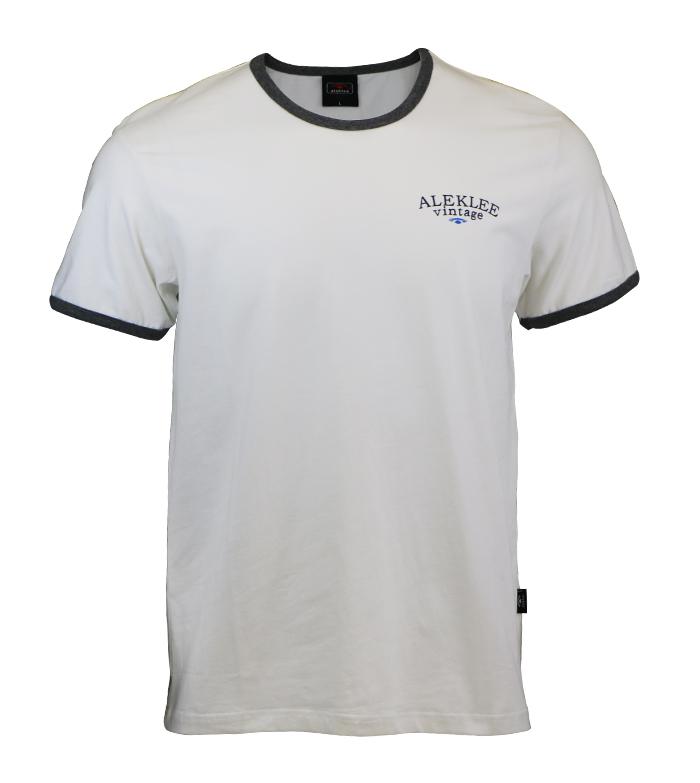 Aleklee classic black &white t-sirt AL-6010#