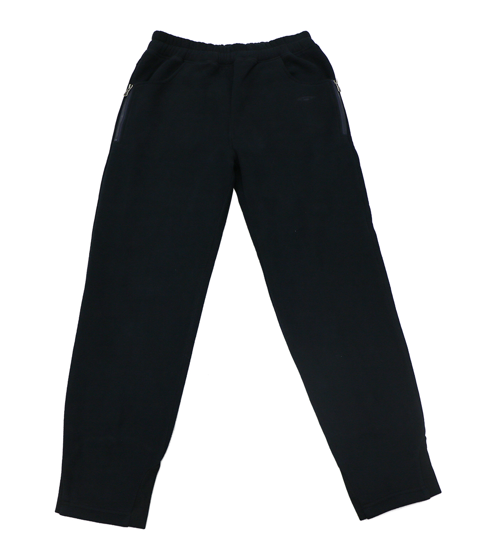 Aleklee thick causal plain pants SS18-16#