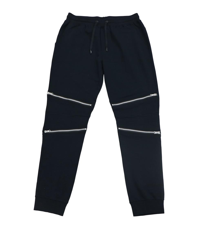 Aleklee zipper knee jogger pants SS18-21#