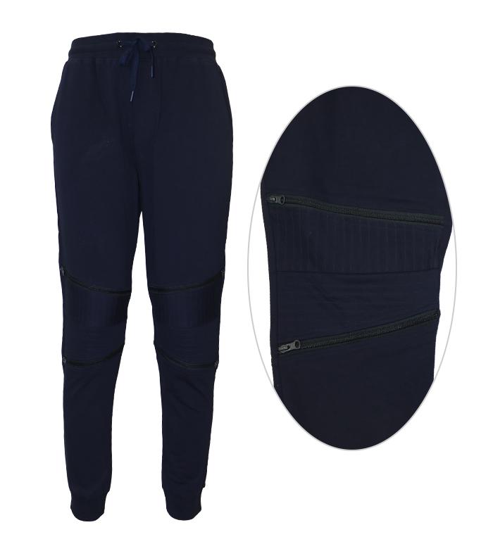 Aleklee zipper knee jogger pants SS18-21