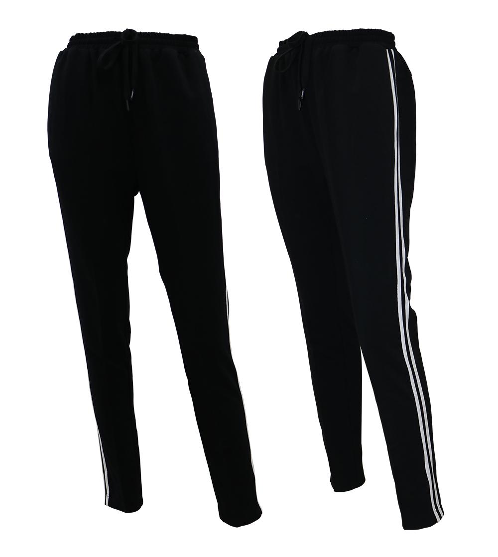 Aleklee side stripe jogger pants SS18-23#