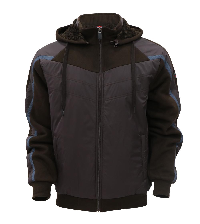 Aleklee taped polyester hoodie jacket AL-1922#