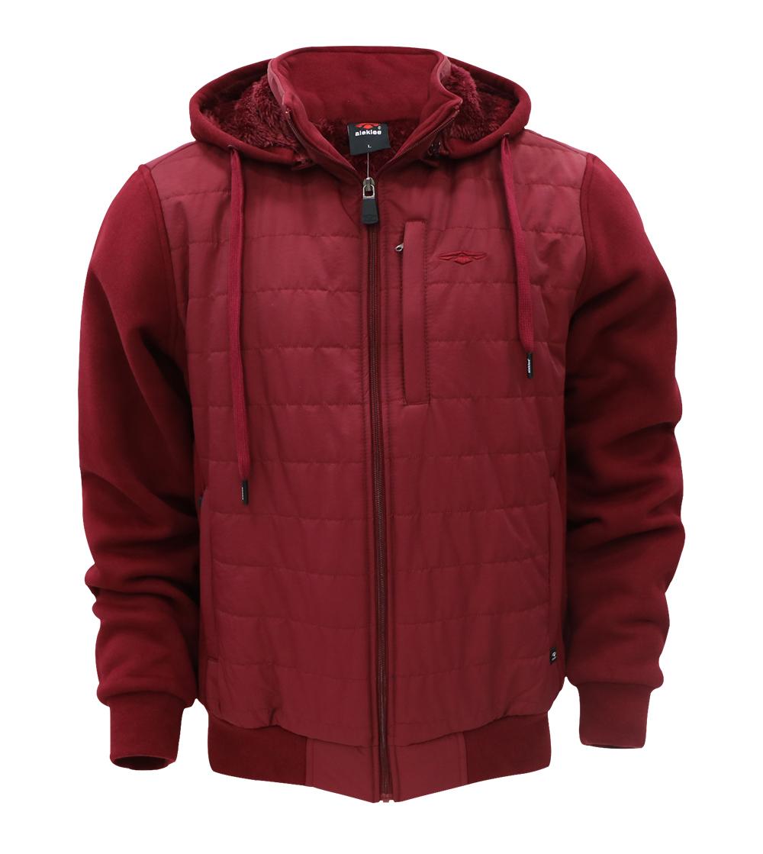 Aleklee chest pocket causal hybird jacket AL-1946#