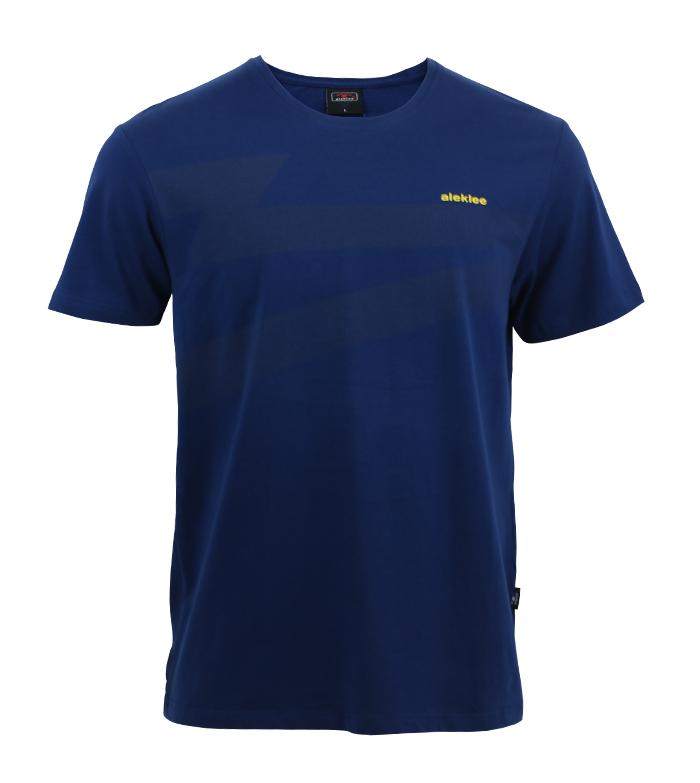Aleklee chest logo t-shirt AL-6005#