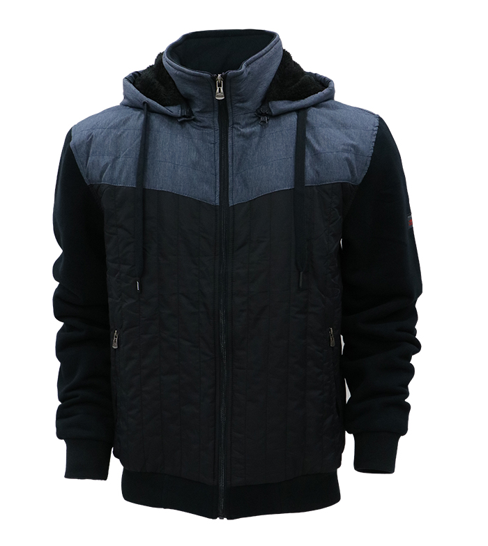 Aleklee patchwork hybird jacket AL-1854#