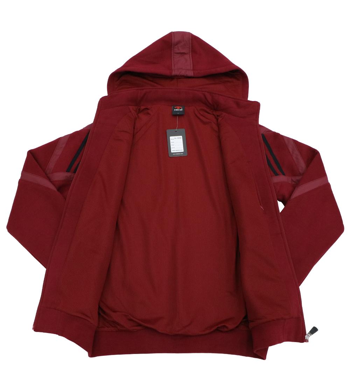 Aleklee patchworked sleeve hoodie jacket AL-1920#