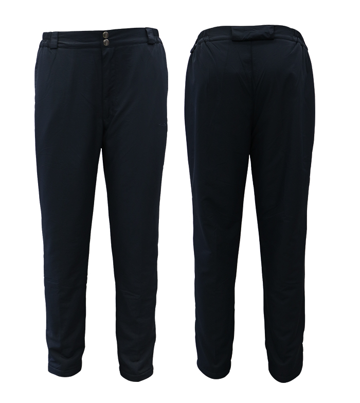 Aleklee thick polyester pants with elastic band AL-1954#