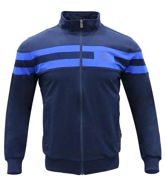 Aleklee double chest srtipe hoodie AL-7822#