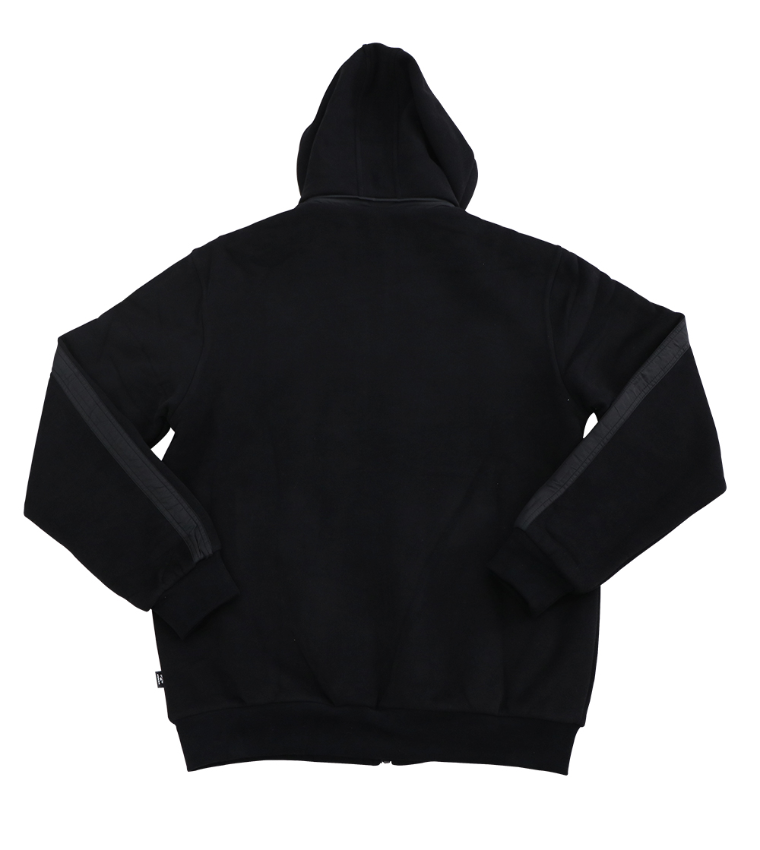 Aleklee chest stripe hoodie jacket A-005#
