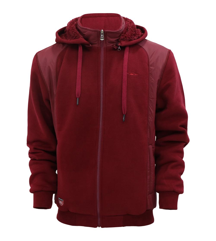 Aleklee hybird solid color winter jacket AL-1939#