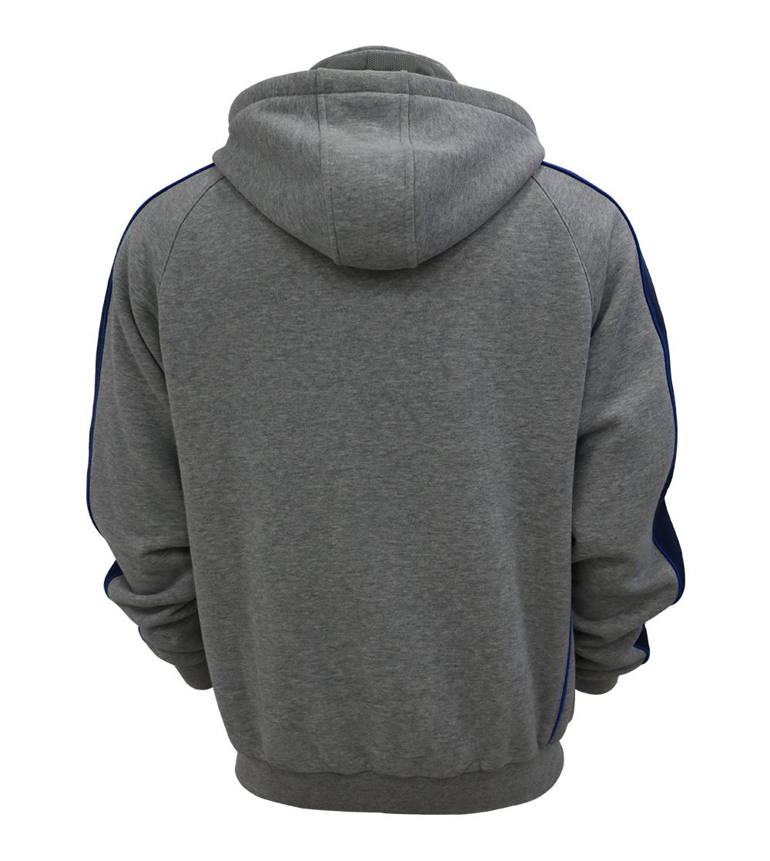 Aleklee sleeve patchwprked hoodie jacket AL-7836#
