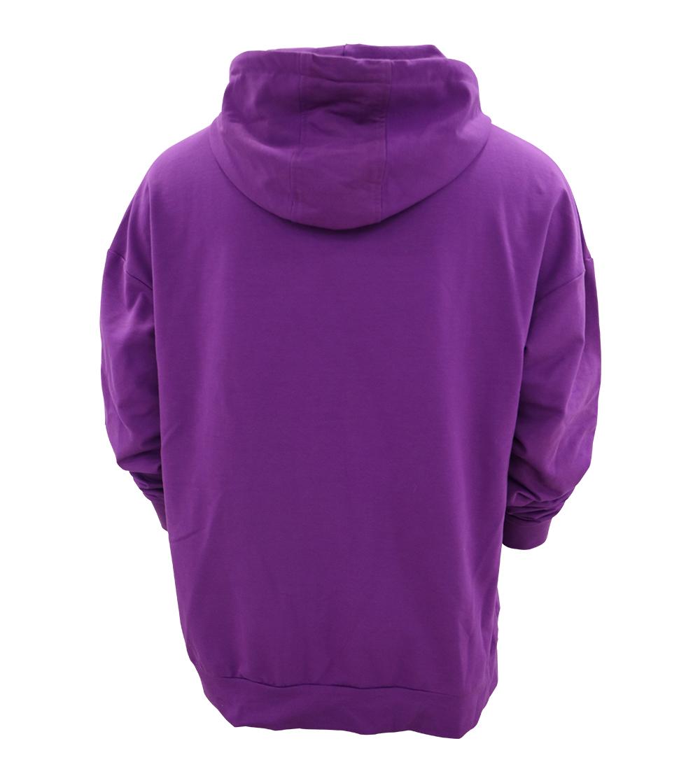 Aleklee plus size plain hoodie AL-021120#