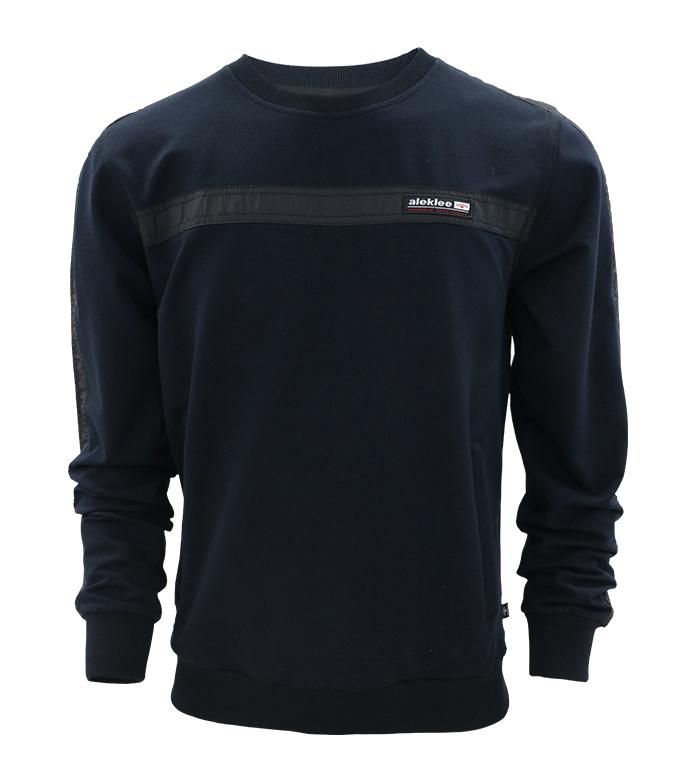 Aleklee one stripe hoodie sweatshirt AL-7804#